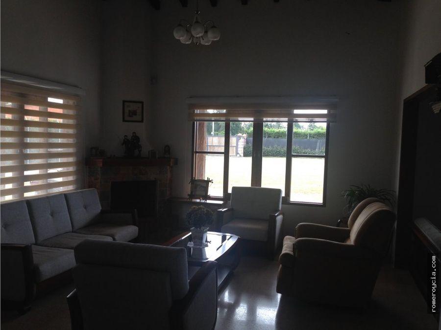 casa en venta en llanogrande rionegro