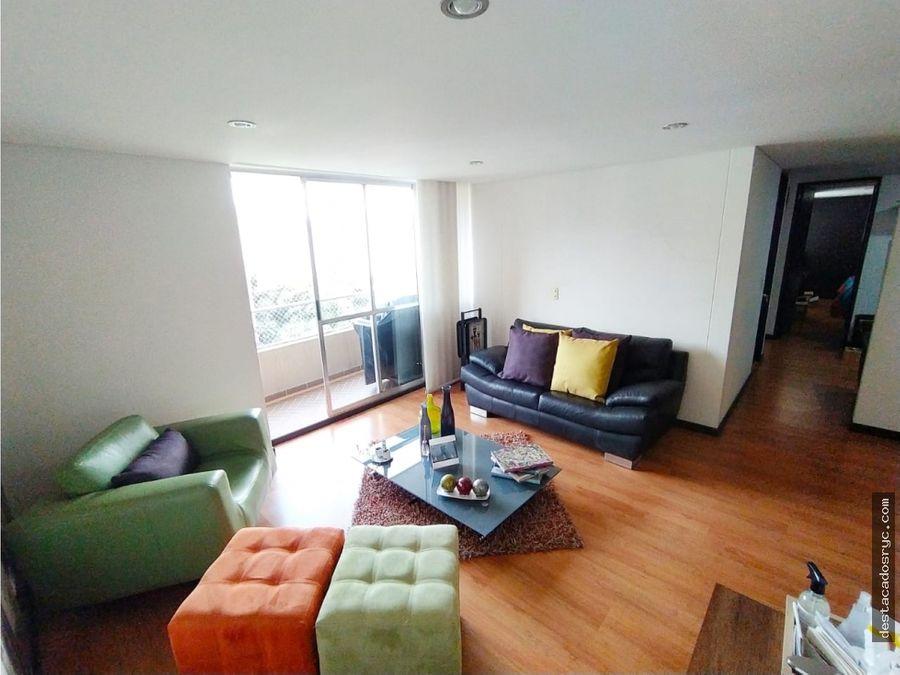 excelente apartamento en venta en loma de los bernal medellin