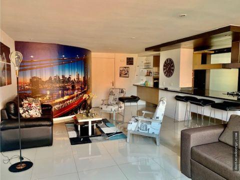 apartamento remodelado en venta en el campestre medellin