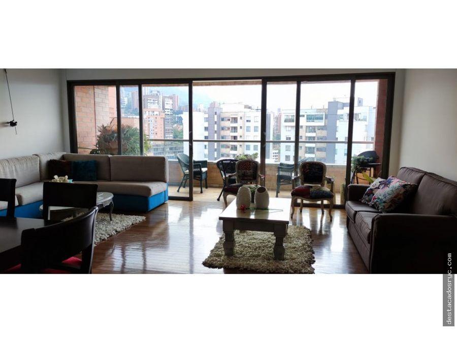 hermoso apartamento en venta en la tomatera poblado
