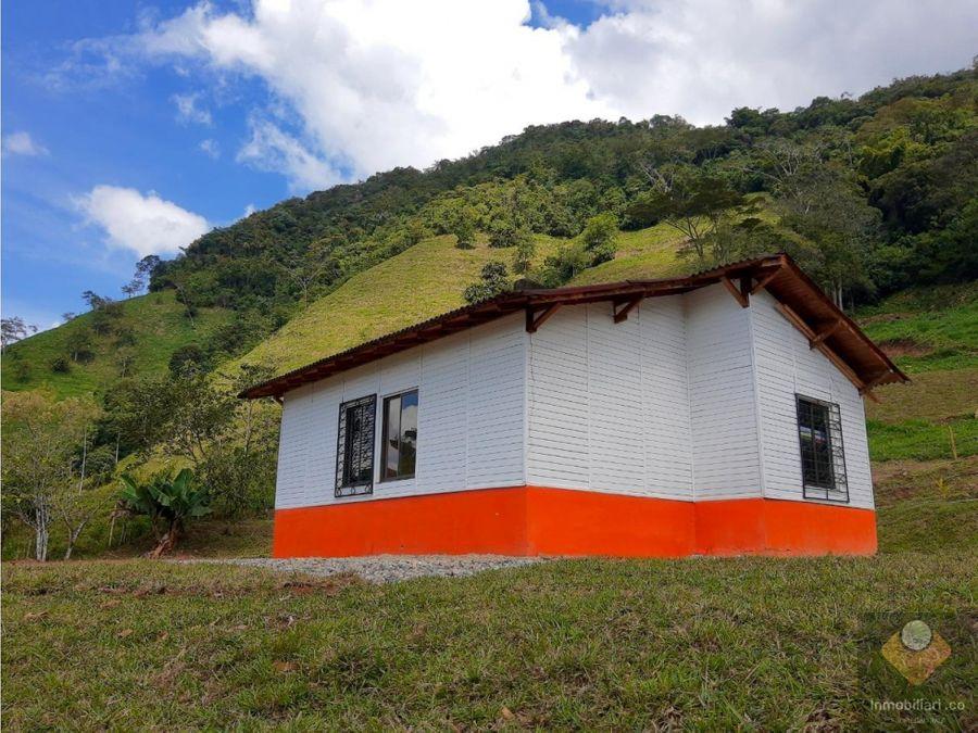 casa campestre en venta san carlos