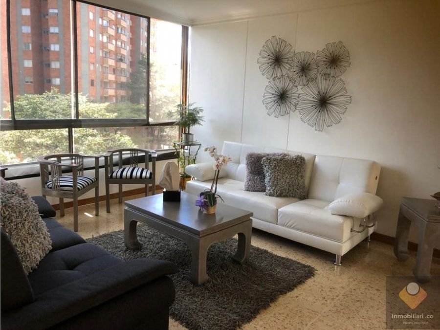 venta apartamento medellin poblado patio bonito