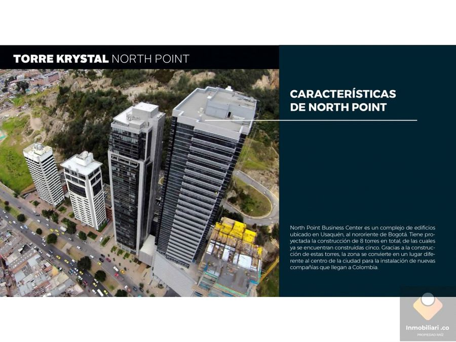 venta local bogota north point torre krystal