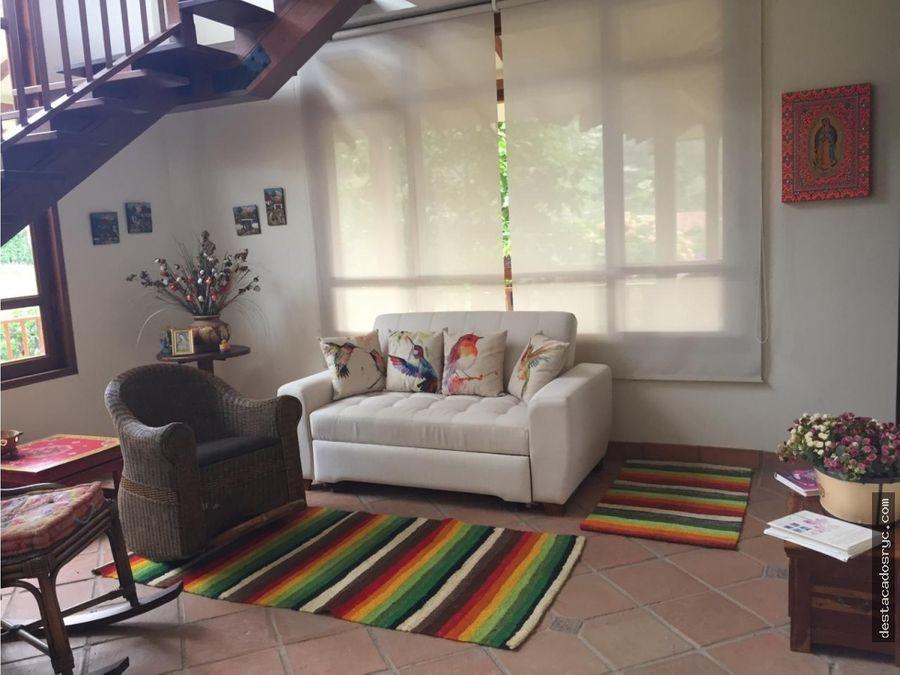 casa en venta en anapoima