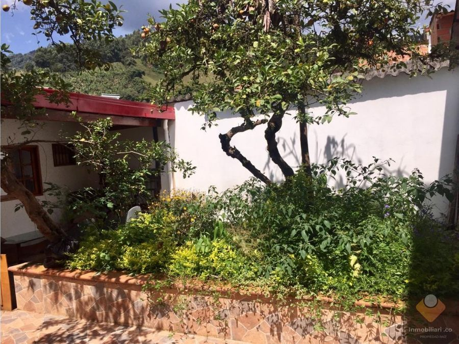 venta casa jardin antioquia