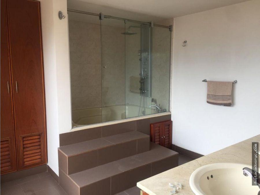 amplio apartamento en venta en el poblado el campestre