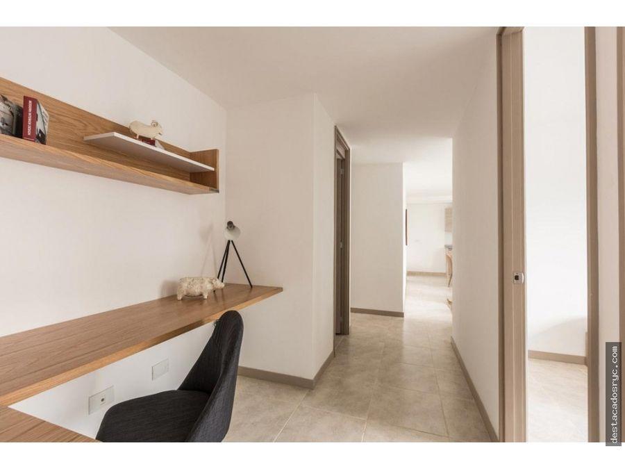 apartamento en venta en envigado sector la cuenca