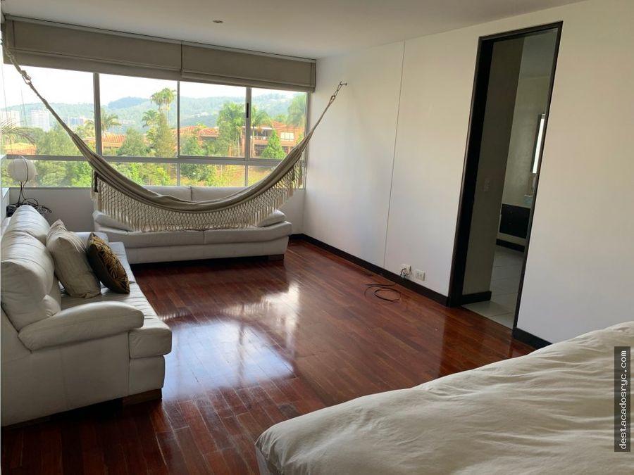 apartamento en venta en la calera medellin