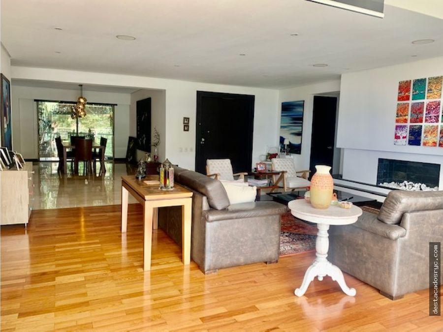 apartamento en venta en el poblado sector la calera