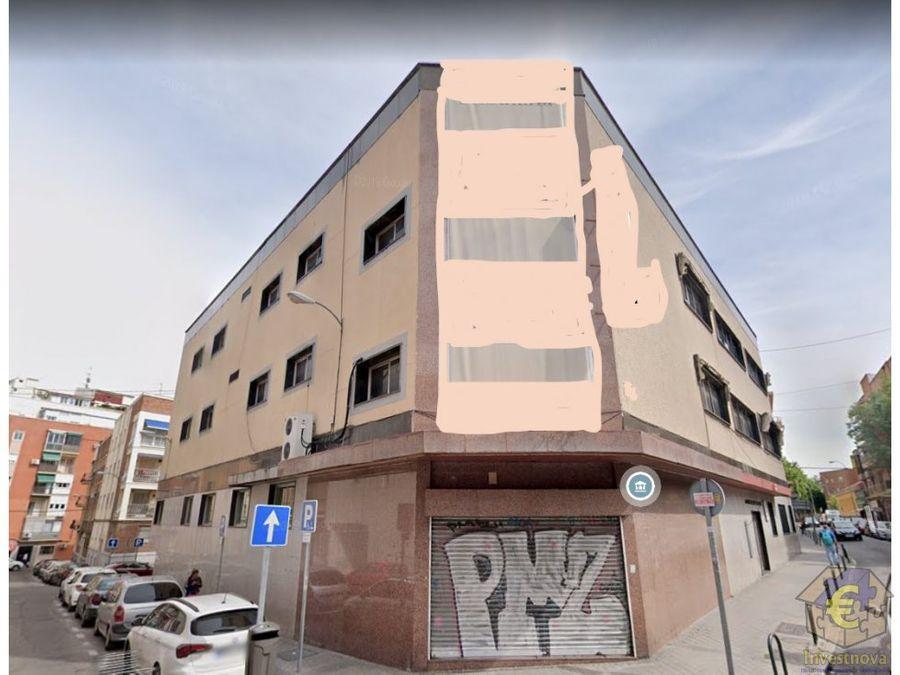 lote de 3 edificios contiguos en madrid