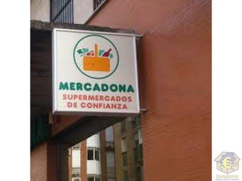 local comercial mercadona