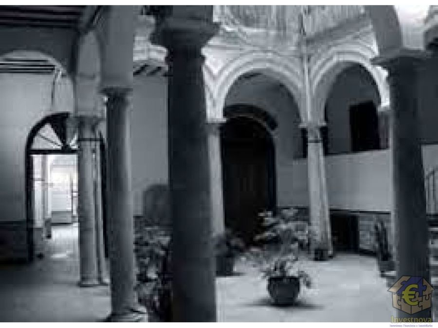 edificio barroco para rehabilitar centro de malaga