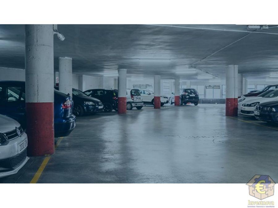 parking publico en granada centro