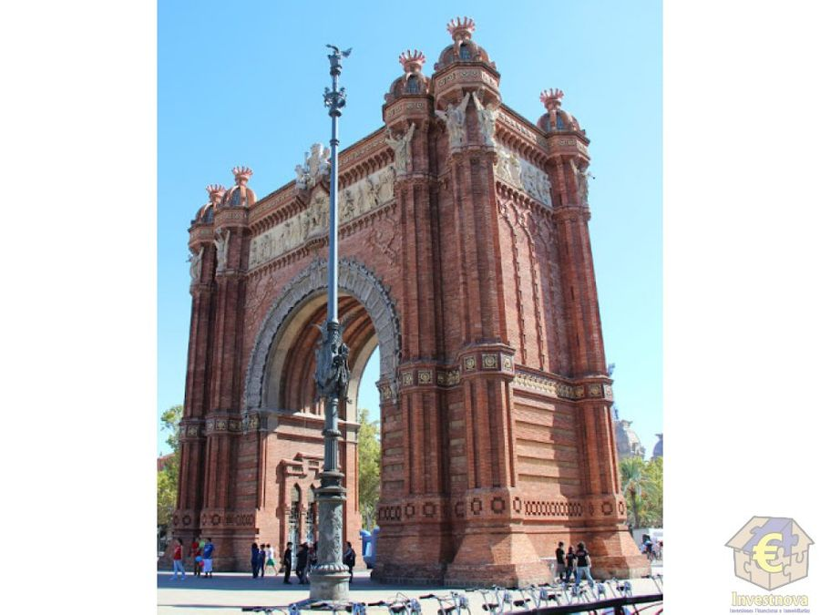 parking publico arco del triunfo barcelona