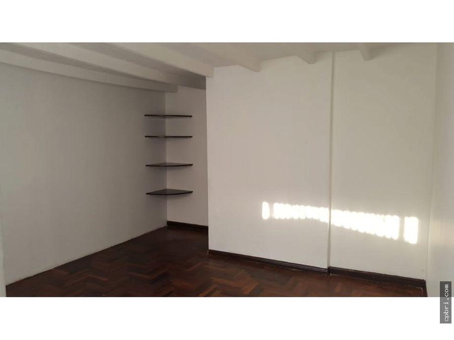 se alquila departamento 3er piso san miguel maranga 89 m2