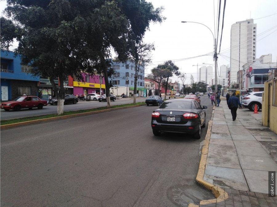 alquiler de local comercial con vista av bolivar pueblo libre
