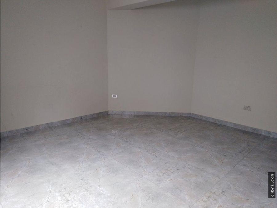 alquiler de amplio dpto en 2do piso pueblo libre