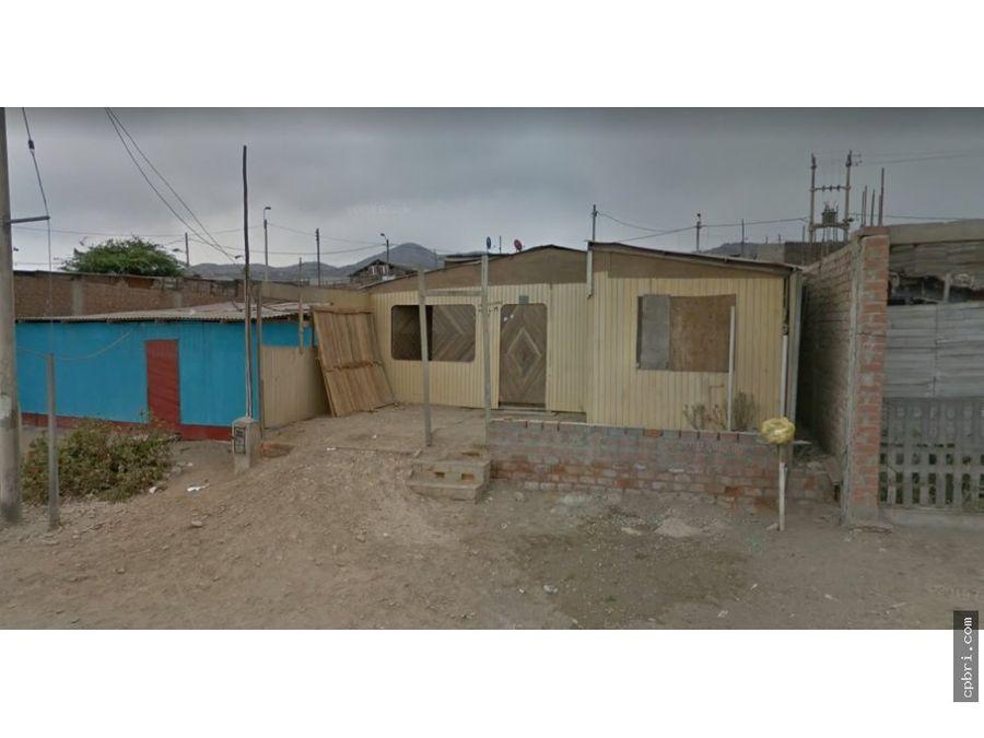 venta terreno asoc kawachi pachacutec ventanilla 180 m2