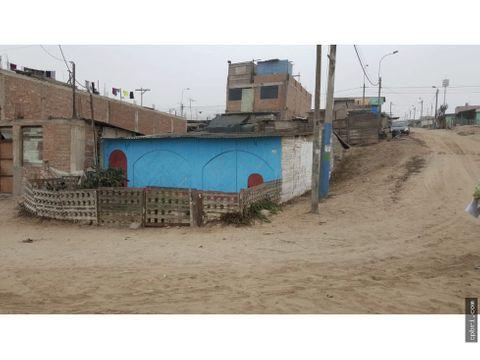 vendo terreno avenida esquina asoc mercado central pachacutec 145 m2