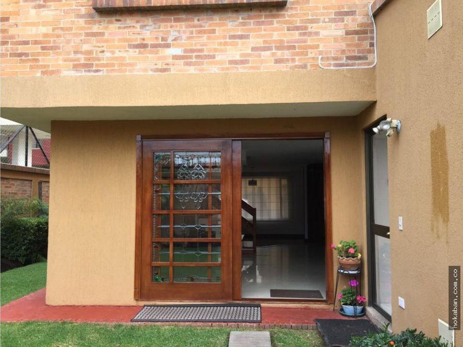 casa en venta chia santa cecilia iv