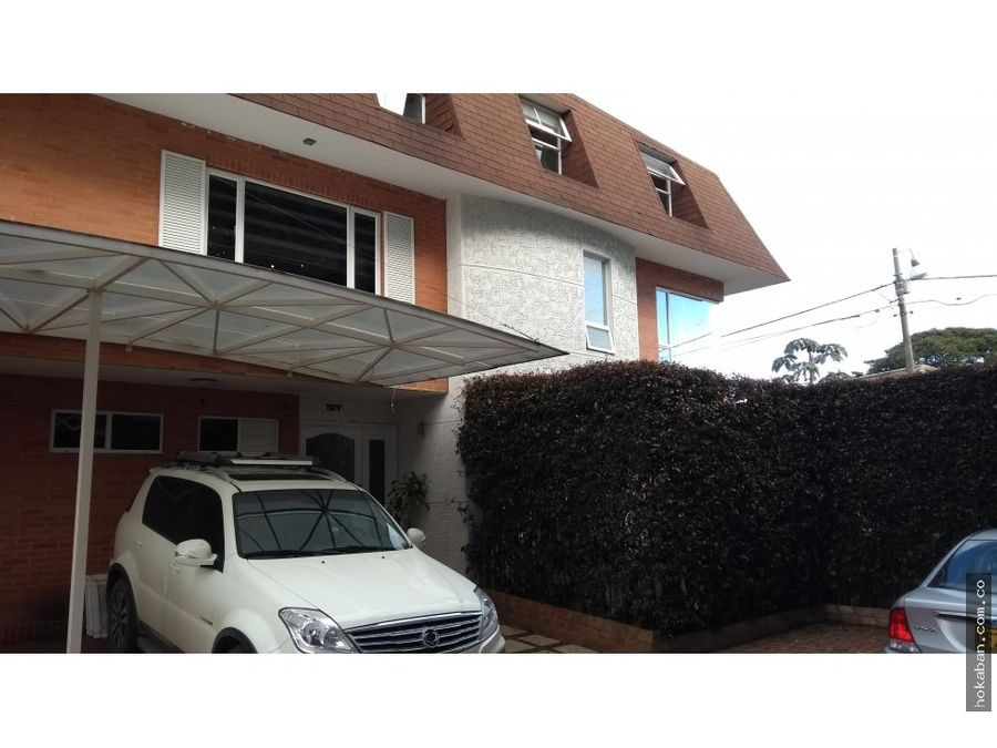 vendo casa en chia conjunto girasoles