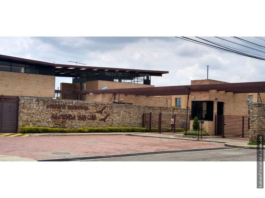 vendo casa en cajica hacienda san luis