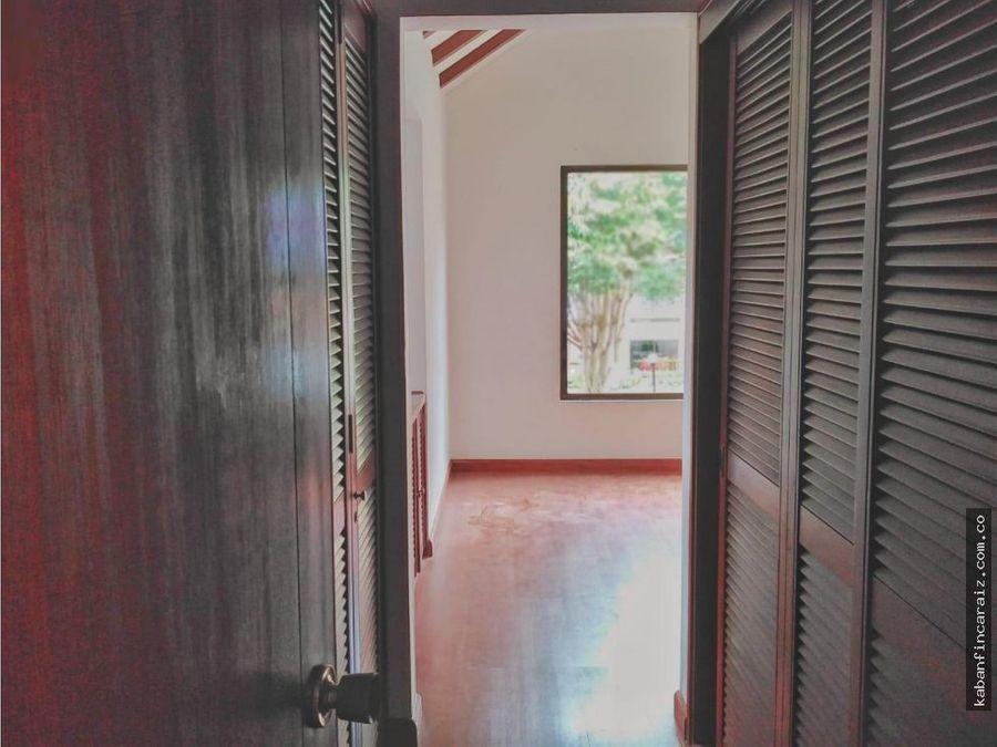 vendo casa en chia club campestre rio frio