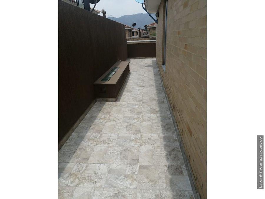 arriendo casa en chia conjunto residencial guaymaral reservado