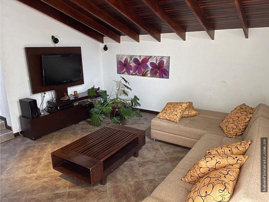 vendo casa en chia condominio remanso de siata