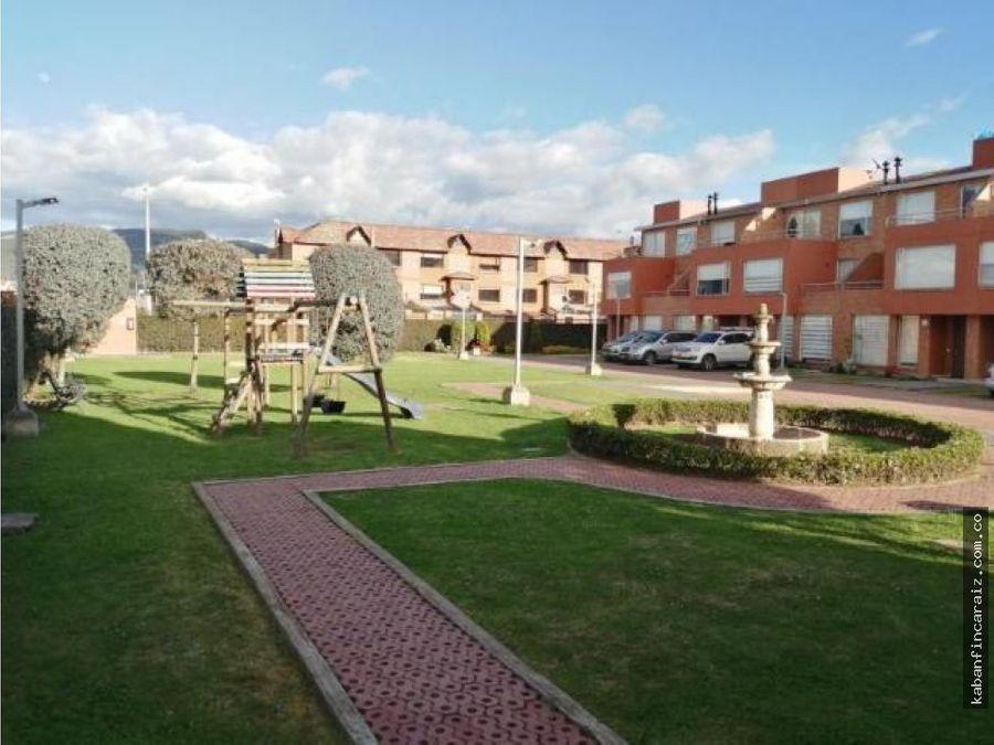 vendo casa en chia conjunto asturias de santillana