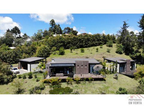 casa campestre en venta en rionegro