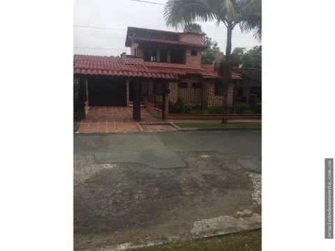 casa en venta en rionegro sector gualanday
