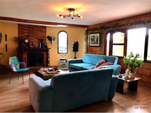 casa campestre en venta vereda el plan en santa elena