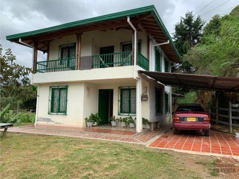 casa campestre en venta sector los castanos en guarne