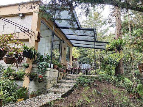 casa campestre en venta vereda chaparral en guarne