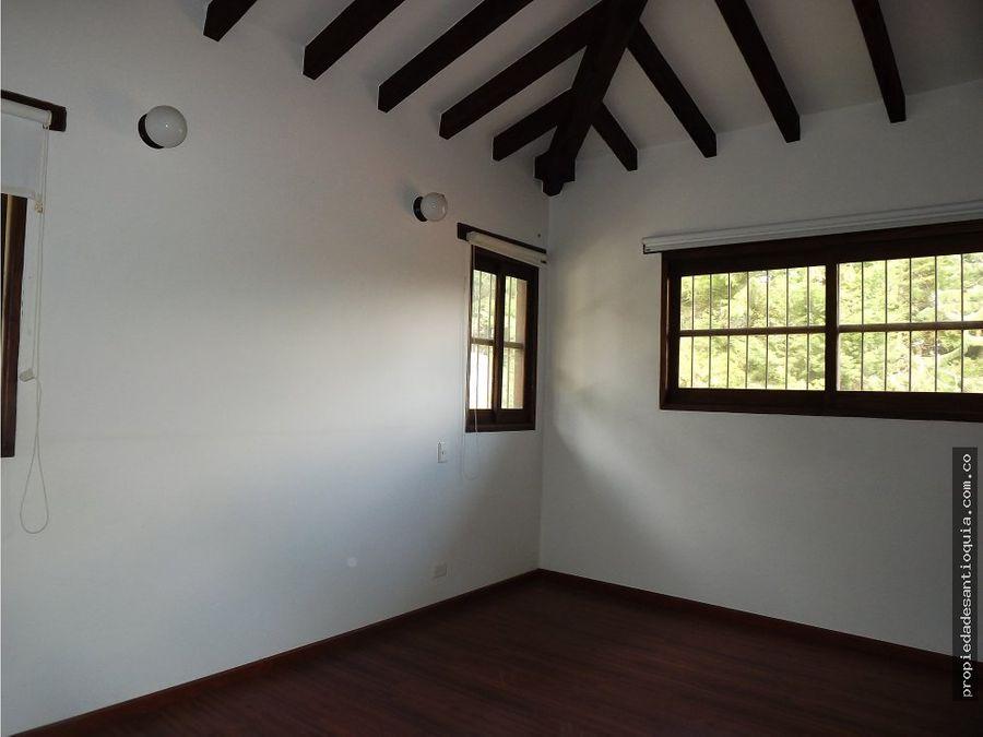 casa en venta sector la querencia en rionegro