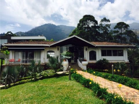 casa campestre en venta sector poblado en medellin