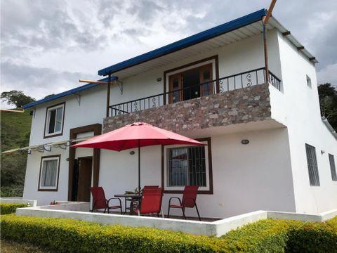 casa campestre en venta vereda tacamocho en tarso