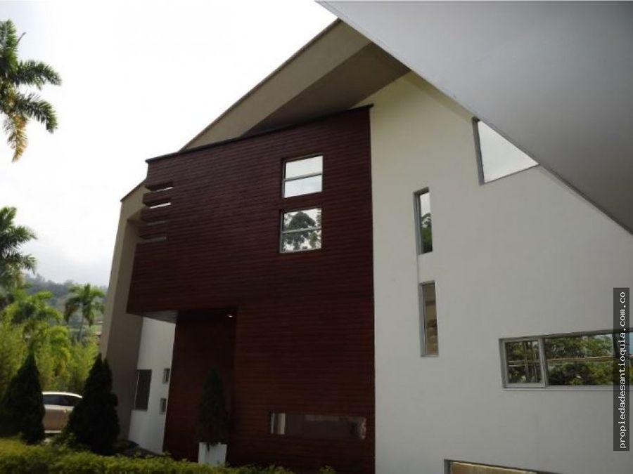 casa en venta sector loma del escobero envigado