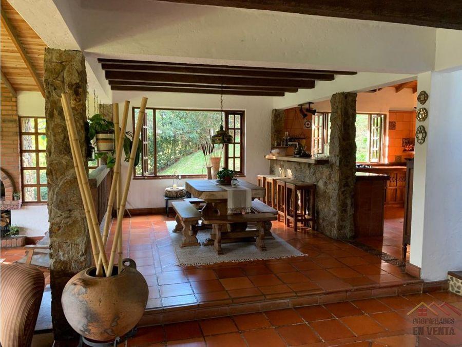 casa campestre en venta en el alto de las palmas