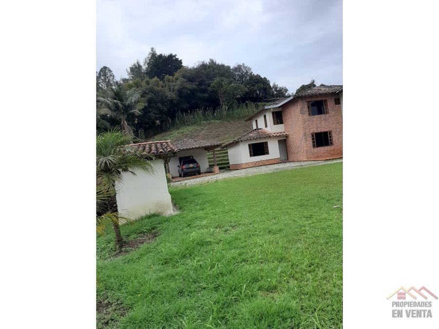 casa en venta rionegro sector cabeceras
