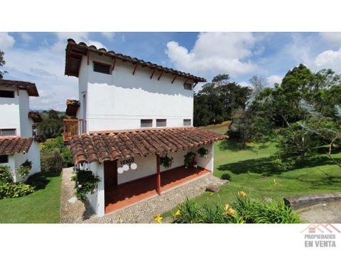 casa campestre en venta en rionegro sector villa campestre