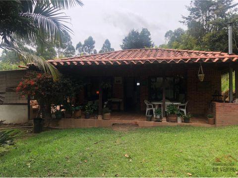 casa campestre en venta vereda fontibon en rionegro