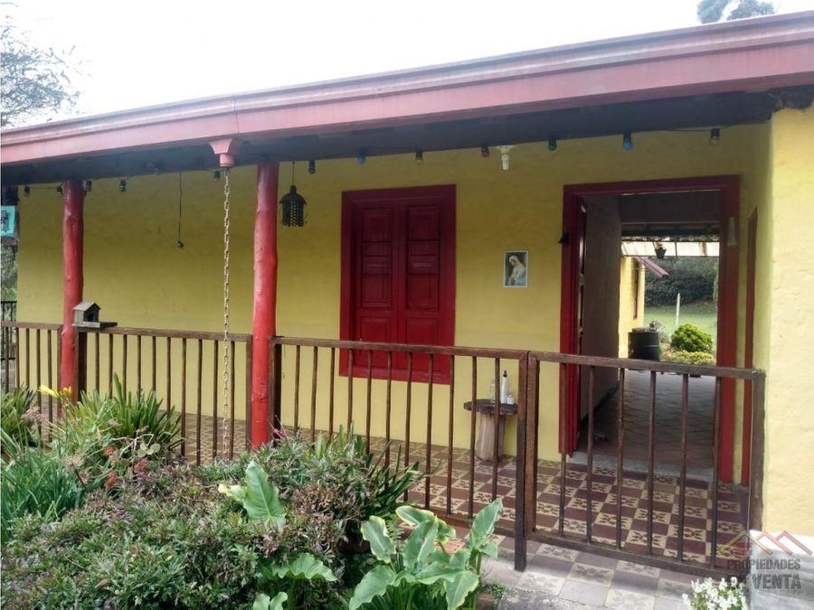 casa campestre en venta en santa elena