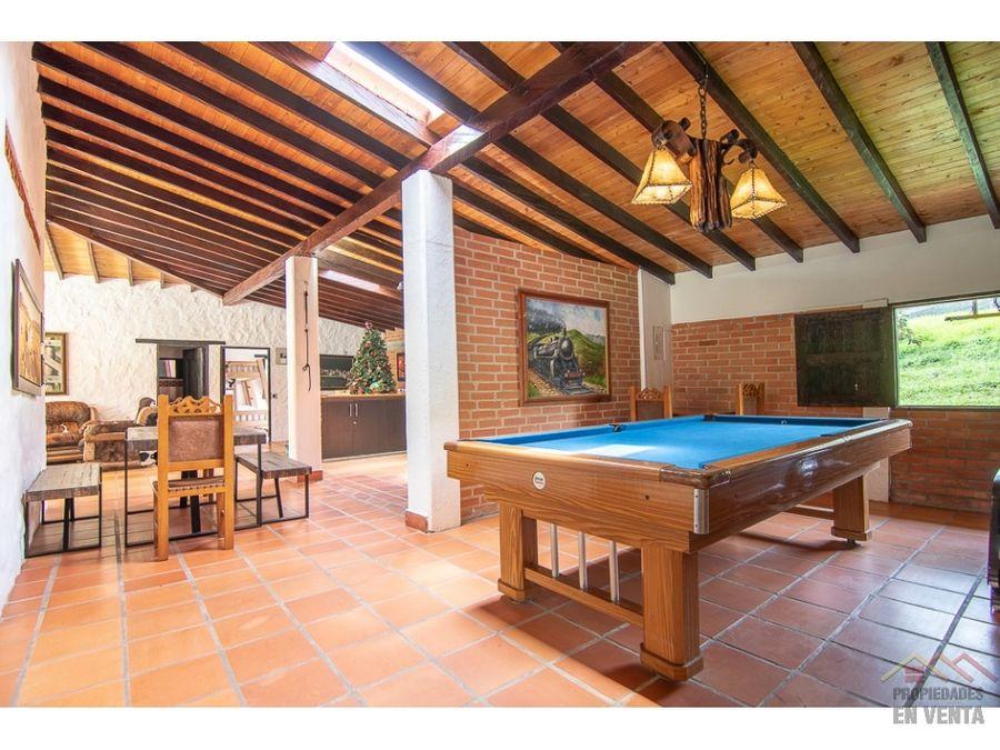 casa campestre en venta sector pontezuela en la ceja