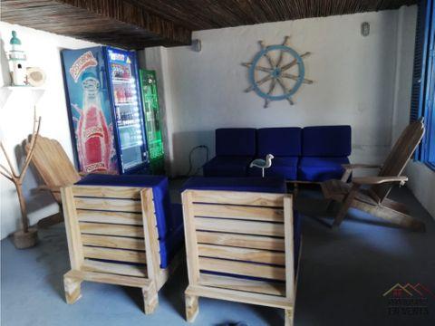 hostal en venta sector rincon del mar sucre