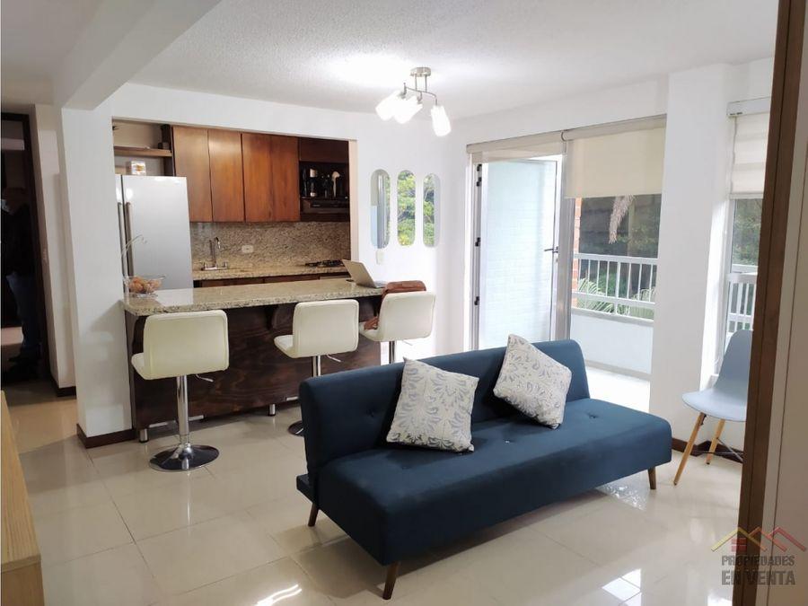 apartamento en venta sector loma san julian el poblado