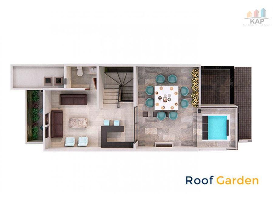 casa manantiales corregidora almendro con rooftop