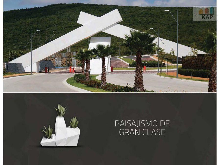 venta terreno habitacional mallorca residence qro