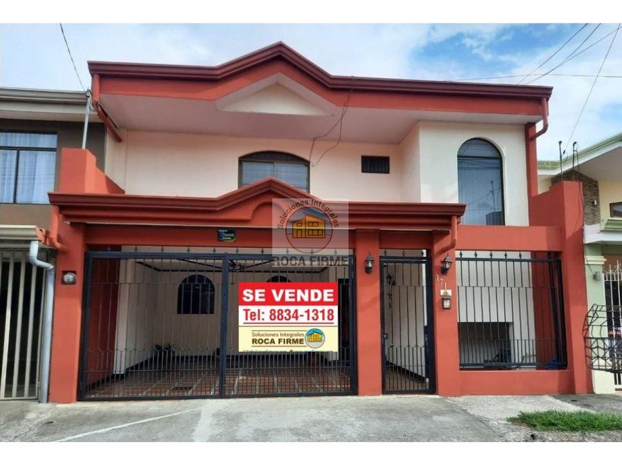 casa en villa adobe san pablo heredia oferta